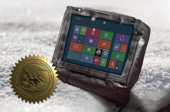 Gamber-Johnson was awarded a patent for its thermal tablet covers.