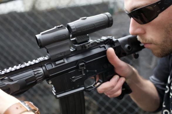 Holosun HM3X Magnifier  - Photo: Holosun