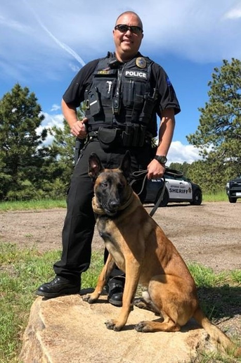 On his first night on patrol, K-9 Mao had six deployments and in one of those, he located two suspects who ran from a hit and run/DUI motor vehicle collision and hid from officers down an embankment in the weeds.