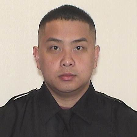 Officer Kou Her was killed in a traffic collision with a suspected drunk driver while driving home from his shift.  - Image courtesy of the Milwaukee Police Department.
