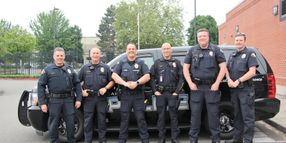 Washington Command Staff Take a Shift so Officers Get a Day Off