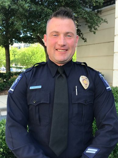 Officer Andrew Spottswood of the Charlotte-Mecklenburg Police Department went out of his way to help a 75-year-old man whose wallet was stolen.  