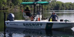 Florida Dive Team Cleans Trash from River While Training