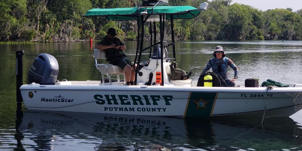 Divers with the Putnam County (FL) Sheriff's Office were conducting training on a local river...