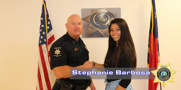 The Henderson County (NC) Sheriff's Office hired Stephanie Barbosa as the agency's first ever...