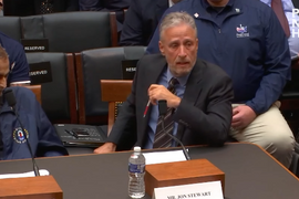 Video: Comedian Jon Stewart Blasts Congress Over Treatment of Sick and Dying 9/11 Heroes