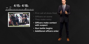 Video: Gunfight Between Officers and VA Beach Gunman Lasted More Than 10 Minutes