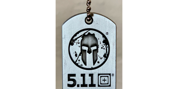Every race participant will receive a 5.11 x Spartan branded dogtag.
