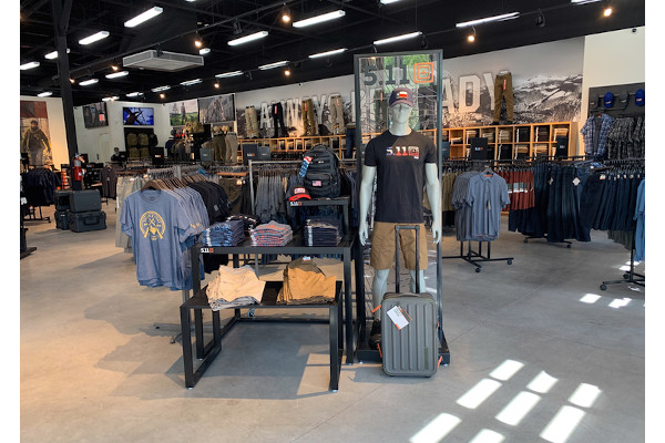 5.11 Tactical is opening its 50th company-owned store, which will be in Fort Bliss, TX.