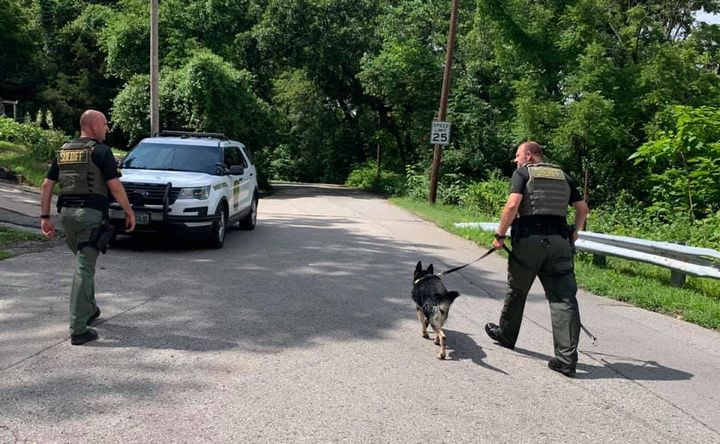 Deputies with the Clay County (MO) Sheriff's Office were searching a wooded area for a man wanted for possession of a controlled substance when the subject passed gas so loudly his hiding spot was revealed.