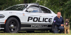 North Carolina Department Welcomes New K-9