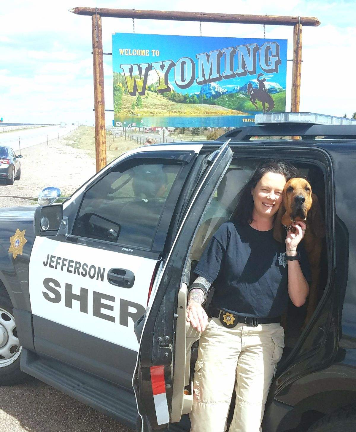 Colorado Bloodhound Helps Locate Missing Wyoming Girl