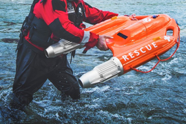 OceanAlpha Launches Unmanned Surface Rescue Vehicle (USRV)