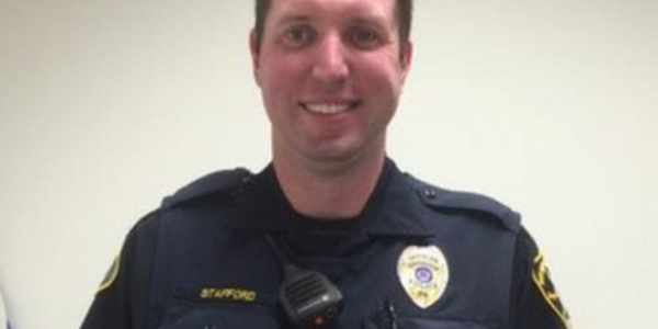 "Officer Cullen Stafford was shot ""multiple times"" but is expected to recover."