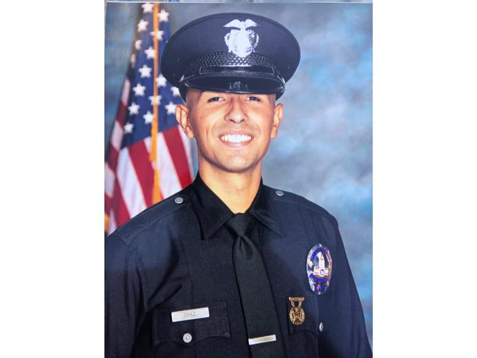 LAPD officer Juan Diaz was shot and killed off duty after confronting taggers. (Photo: LAPD)