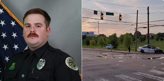 Officer John Anderson.  - Image courtesy ofMetro Nashville Police Department / Twitter.