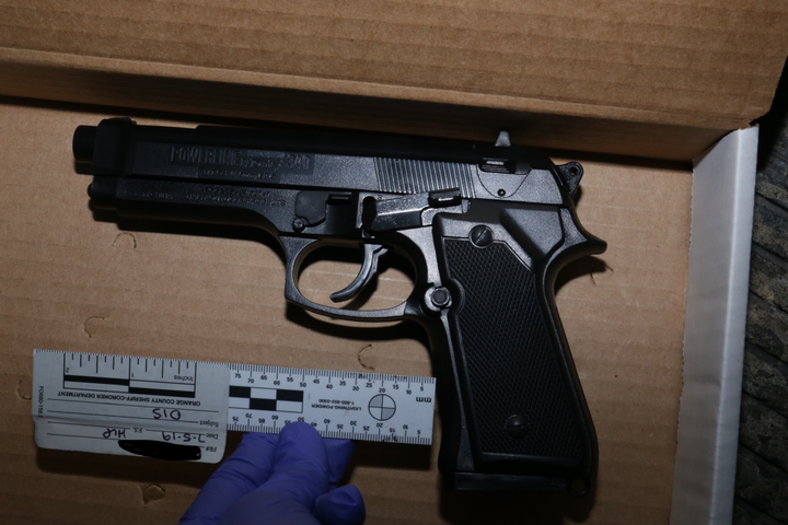 A BB gun closely resembling a Beretta 92F was reportedly recovered from the scene of an officer-involved shooting that left 17-year-old Hannah Williams dead.