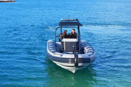 The Armored Group LLC Launches TAG I 9.5 N Armored Boat