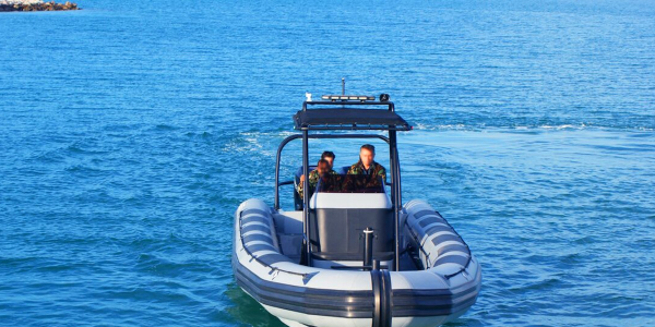 The Armored Group LLC (TAG) I 9.5 N (Navy) Rigid Inflatable boat
