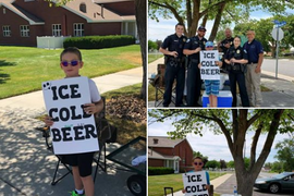 "Boy Selling ""Ice Cold Beer"" Draws Attention of Utah Police"