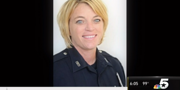 Fort Worth, TX, Police Officer Kellie Whitehead is fighting with the city to be paid during her...