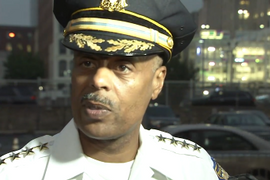 Video: Commissioner Talked to Suspect to End Philadelphia Standoff
