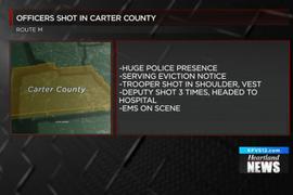 2 Missouri LEOs Shot, Hospitalized with Non-Life-Threatening Injuries