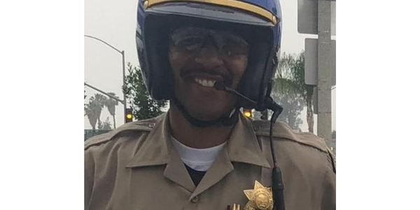 California Highway Patrol Officer Andre Moye was killed during a gunfight with a rifle-wielding...