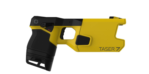 The TASER 7 is Axon's seventh generation conducted energy weapon (CEW).