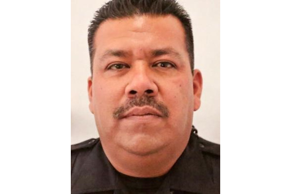 Officer Jesus Cordova was killed in April 2018.