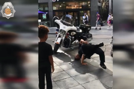 Video: Denver Officer Gets Into Epic Break-Dance Battle with Young Boy
