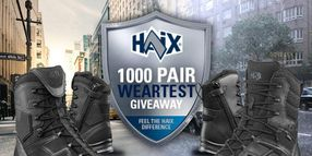 HAIX Looking for 1,000 Officers to Wear-Test Boots for Free