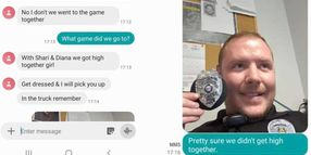 Woman's Wrong Number Text to Officer Leads to Viral Police Department Social Media Post