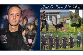 Florida Department Mourns Loss of K-9