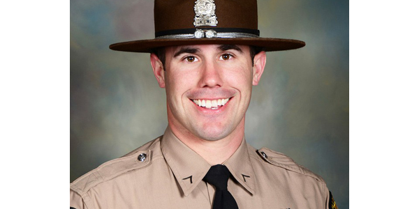 Trooper Nicholas Hopkins was with other members of the Emergency Response Team making entry into...