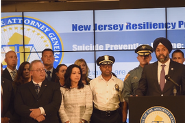 NJ Attorney General Announces Plan to Address Officer Suicide
