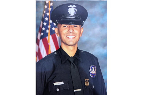 Officer Juan Jose Diaz was off duty when he was shot and killed.  - Photo: LAPD