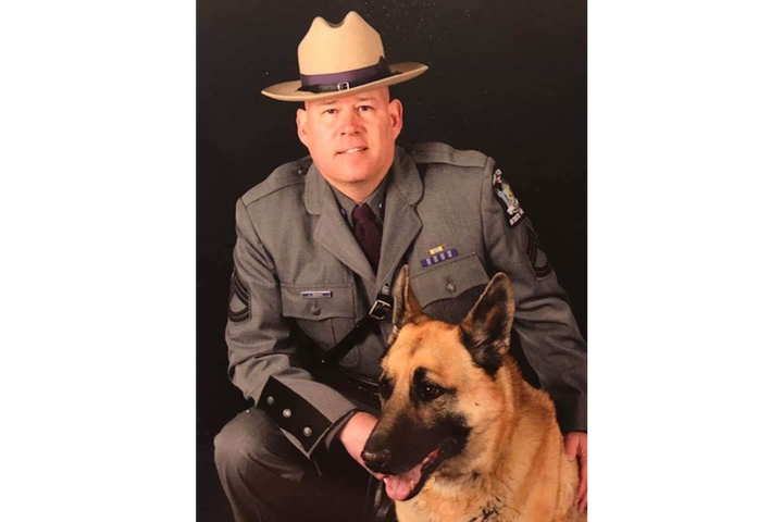 Sergeant Jeffrey Cicora—who was assigned to work at the search and rescue effort in the weeks following the 9/11 attack—passed away on Saturday.  - Image courtesy ofNew York State Police / Facebook.