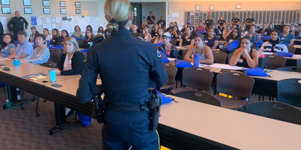 The San Jose Police Department recently hosted a recruitment event targeting female candidates.