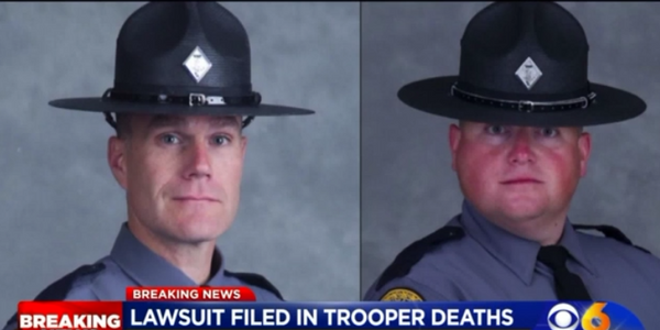 Virginia State Troopers Henry John Cullen III and Berke Morgan Matthew Bates were killed in a...