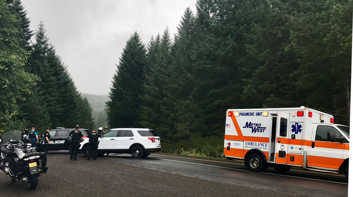 Two deputies with the Washington County (OR) Sheriff's Office were reportedly shot on Thursday evening as they engaged an individual who was suspected of stealing guns from a home in the Hagg Lake area.  - Image courtesy of Washington County Sheriff's Office / Twitter.
