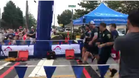 One Year After Being Shot in Head, Georgia Officer Runs in 5K Race