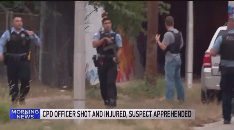 Chicago Officer Saves Self with Tourniquet After Being Shot by Fugitive