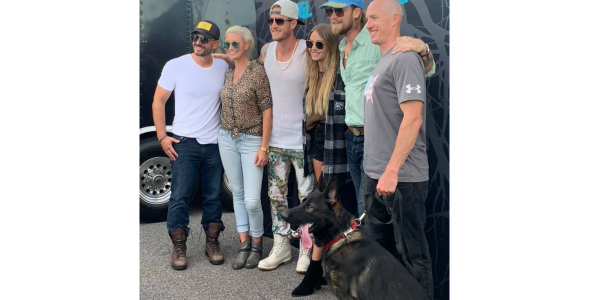 The country music duo Florida Georgia Line has donated a K-9 to the Indianapolis Police...