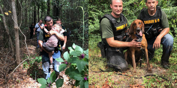 Deputies with the Santa Rosa County (FL) Sheriff's Office employed the assistance of the...