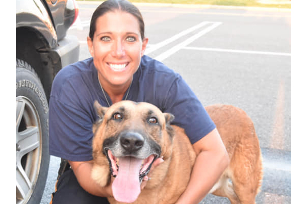New Jersey Department Mourns Loss of Retired K-9 - Patrol