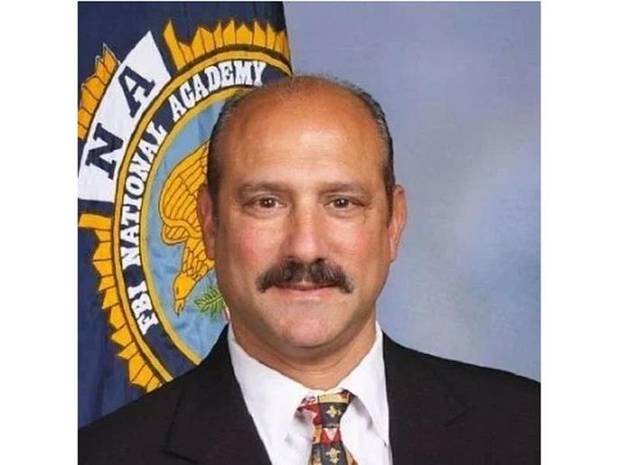 "Captain Vincent ""Vinny"" Liberto Jr. of the Mandeville (LA) Police Department was shot and killed Friday.  -"