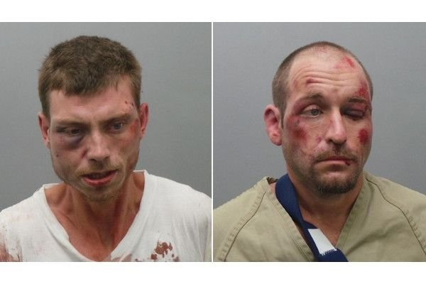 Matthew Higgins and Kenneth Bull are facing charges reltated to firing shots at a police officer.