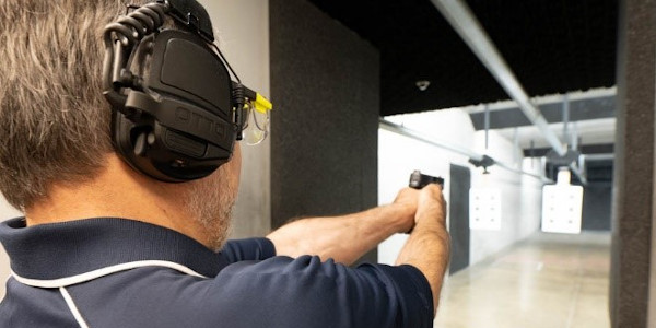 JR Rehayem, Otto senior account manager, was excited to return to the range after many years to...