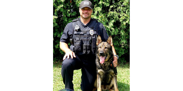 Officer Scott Warzecha and K-9 Kupper graduated the Shallow Creek Kennels Law Enforcement K-9...